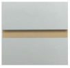 Melamine Slatwall Panel Solid Colors